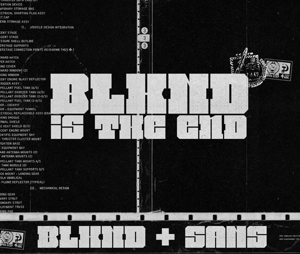 BLKND Free Font