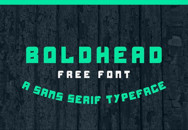 Boldhead Free Font