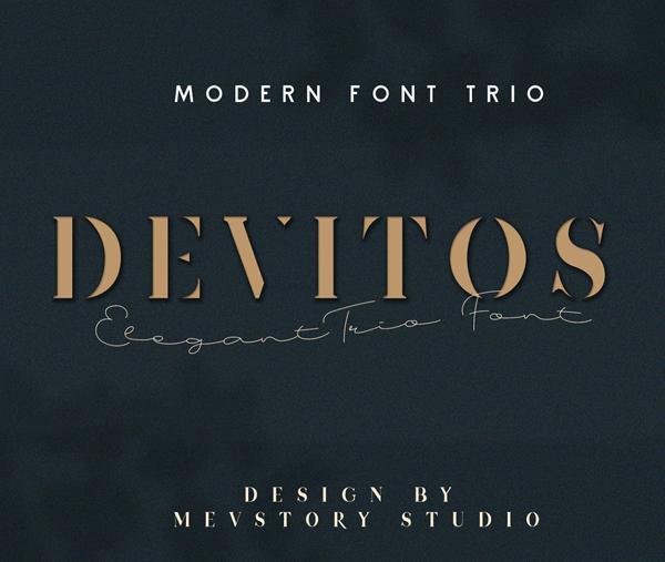 Devitos Serif Free Font
