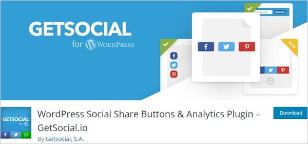 WordPress Social Share Buttons & Analytics Plugin