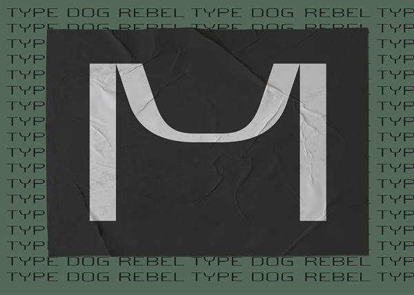 Rebel Type Dog Font (Cyrillic & Latin) Free Font