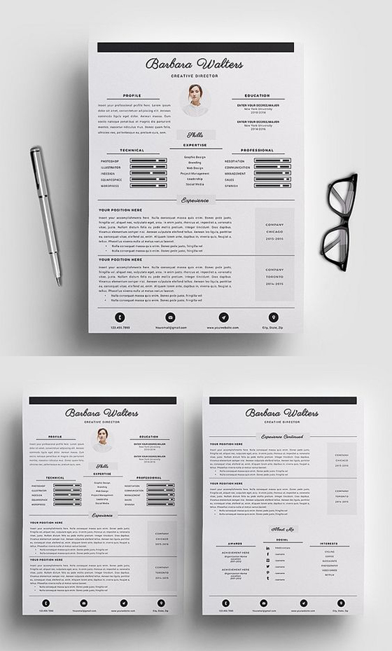 Creative Director Resume Template/CV