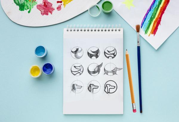 Process of Making a Logo