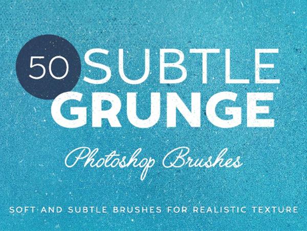 50 Subtle Grunge Brushes