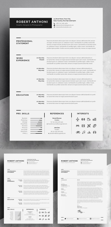 Clean Resume / CV Template