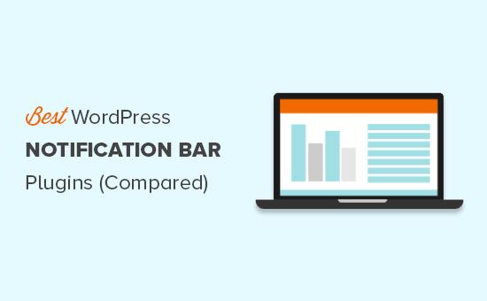 Finding the best WordPress notification bar plugins