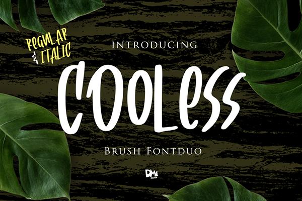 Cooless Brush Free Font