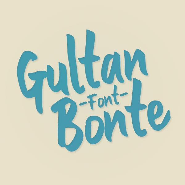Gultan Bonte Free Font