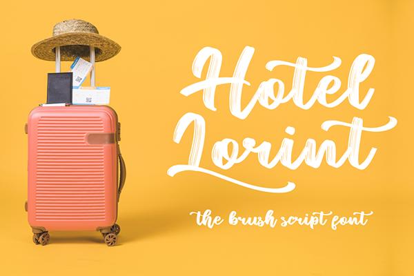 Hotel Lorint Brush Script Free Font