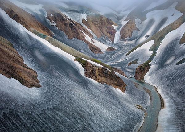 Landscape In Ash, Sweden Photography by Hans Strand