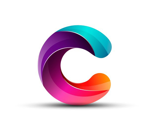 Learn How to Draw 3D Letter C Logo Design in Adobe Illustrator