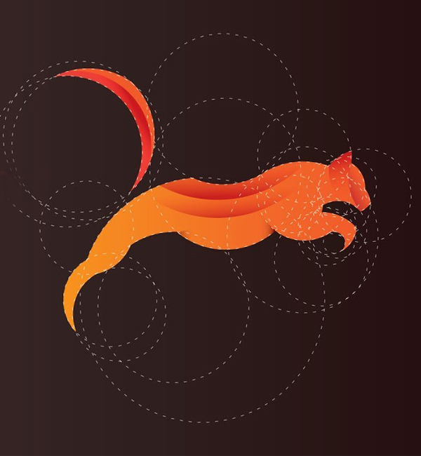 How To Design A Fox Logo Using Golden Ratio in Adobe Illustrator Tutorial