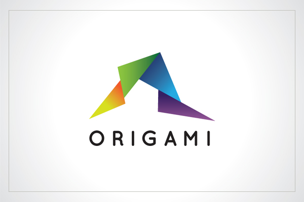 Origami Paper Logo Template by Heavtryq