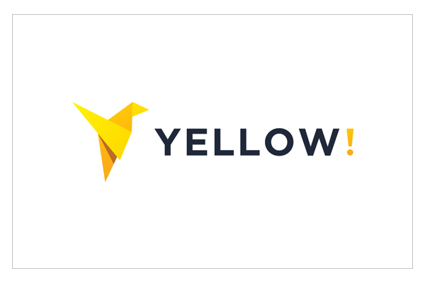 Yellow Logo Design by Graphicflava