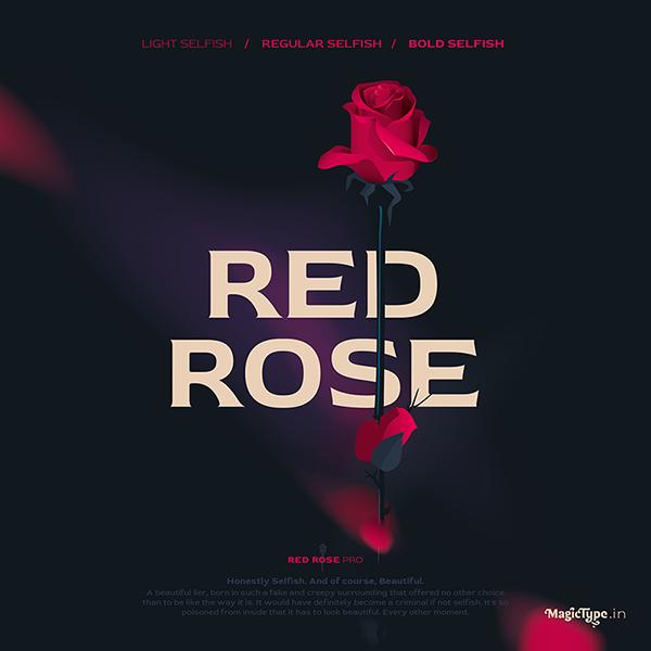 Red Rose Free Font