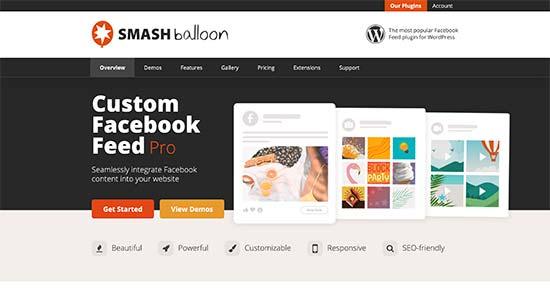 Smash Balloon Facebook Feed