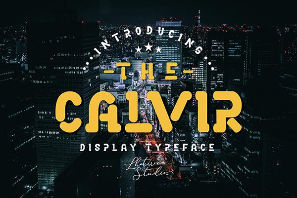 The Calvir Free Font