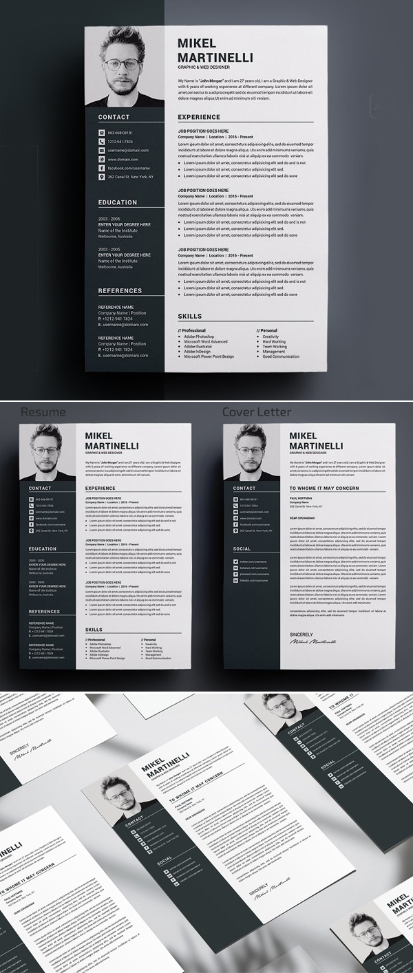 Resume / CV Word Template