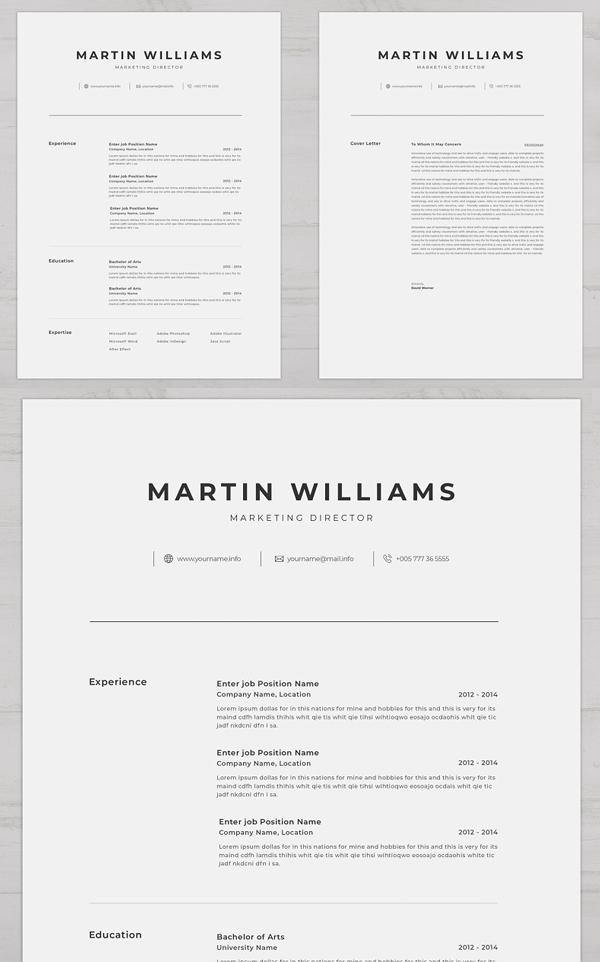 Clean Modern Resume Template