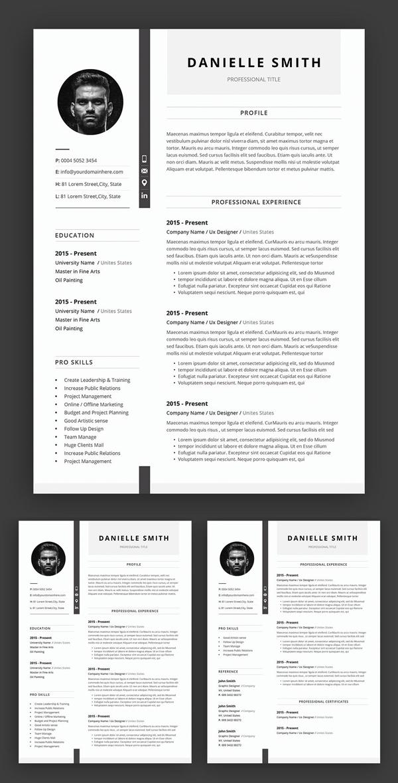 Awesome Creative Resume / CV