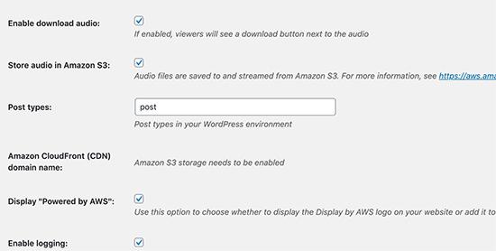 Choose file storage options